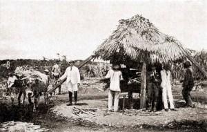 Engenhoca de rapadura em Água Branca em 1921