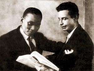 Rodrigues de Melo e o poeta Cipriano Jucá
