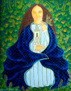 Santa Bárbara, pintura de 1963 de Fernando Lopes