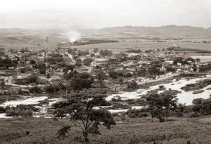 Capela e o rio Paraíba