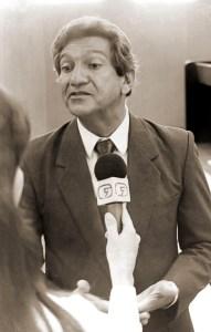 João Sampaio em 1991. Foto de Dárcio Monteiro
