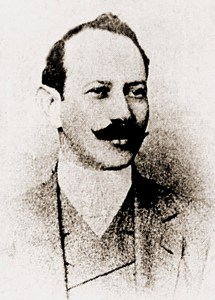 Miguel Omena em 1911, ano do seu assassinato. Foto encontrada graças à pesquisa de Etevaldo Amorim