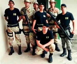 Soldado Gracy Kelly, em 2015 era a única policial militar feminina da Companhia do Sertão