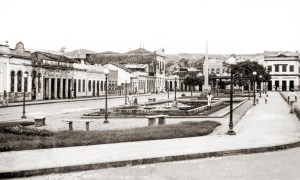 Praça Apolinário Rebelo em Viçosa