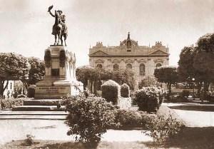 Praça Deodoro em 1950