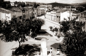 Praça Izidro Vasconcelos em Viçosa