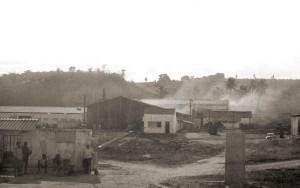 Companhia Metalúrgica de Alagoas - COMESA, em Atalaia nos anos 70