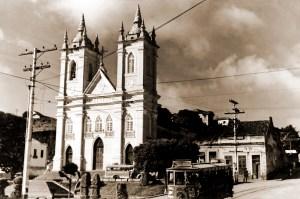 Igreja dos Martírios nos anos 50