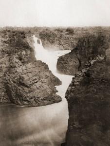 Anônimo. Cachoeira de Paulo Afonso, c. 1875. Paulo Afonso, Rio São Francisco, Bahia