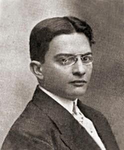 Araújo Jorge em foto publicada na revista Fon-Fon de 22 de junho de 1912