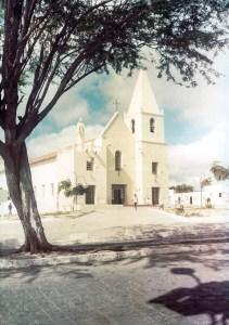 Igreja Matriz Nossa Senhora do Rosário em Delmiro Gouveia em 1983
