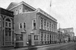 Rua do Livramento em 1920 - Lyceu