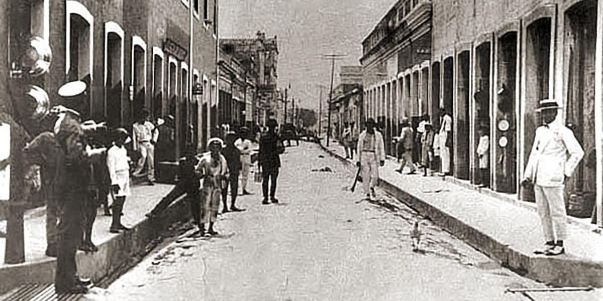 Av. Moreira Lima antes da reforma.