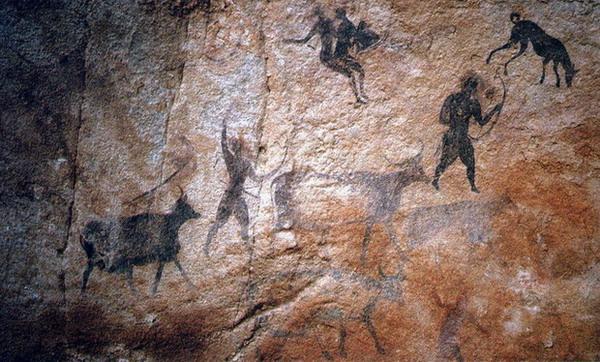 escenas de caza