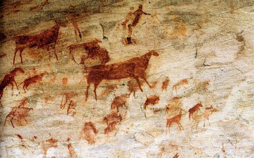 pinturas rupestres bosquimanas