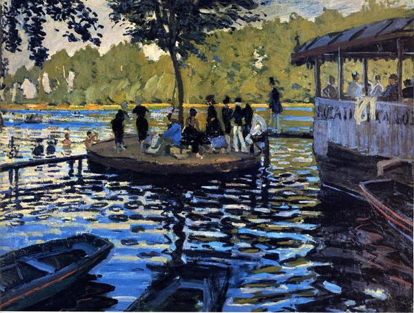 Le Grenouillére de Claude Monet