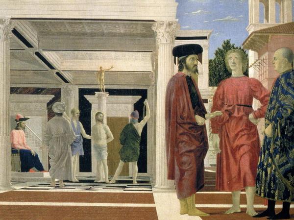 Flagelación de Cristo de Piero della Francesca