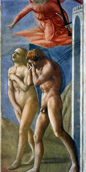 La expulsión del Paraíso de Masaccio