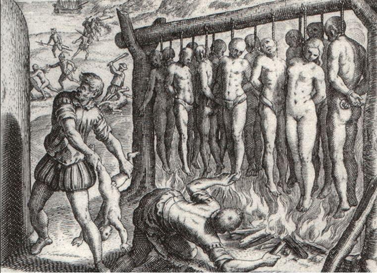 Genocidio indio en América