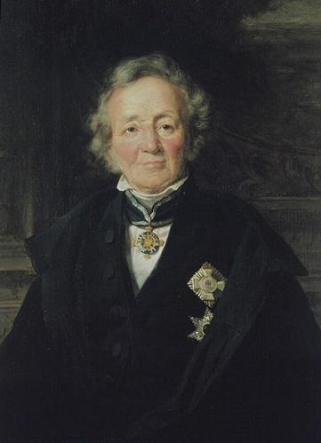 Retrato de Leopoldo von Ranke