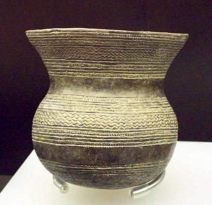 Pieza típica de la cultura del vaso campaniforme