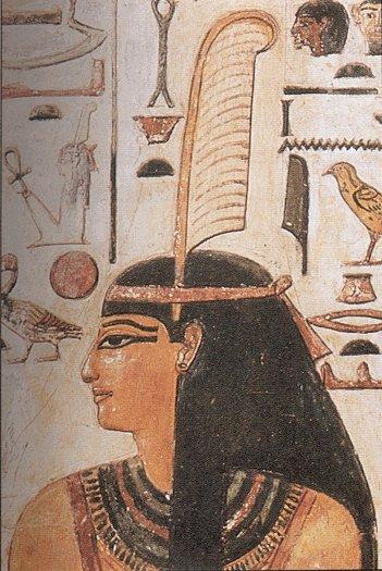 Representación de la diosa Maat, la unión entre naturaleza, sociedad y universo