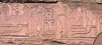 Escenas en las que aparecería Panhesy, virrey de Nubia y supervisor de los graneros