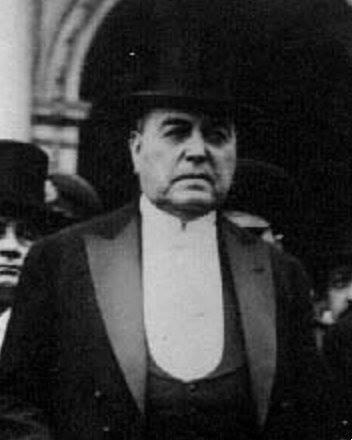 Fotografía conservada del presidente Hipólito Yrigoyen