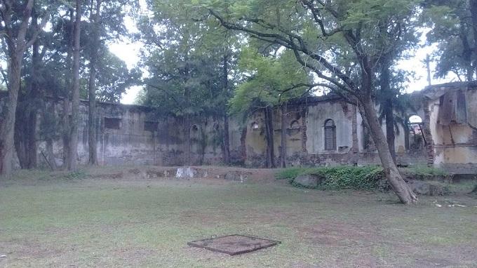 Ruinas actuales de la prisión de la isla Martín García