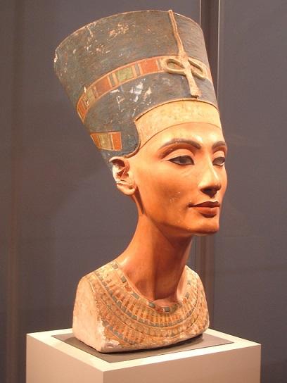 Busto de Nefertiti, museo Neues, Berlín