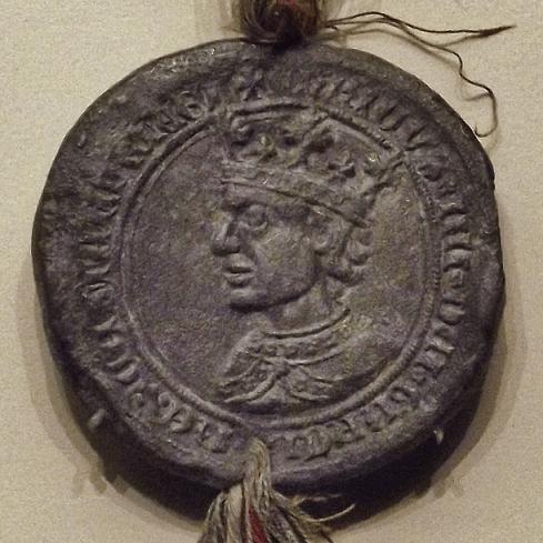 Ilustración 2 Sello real de Enrique IV. Museo Arqueológico Nacional