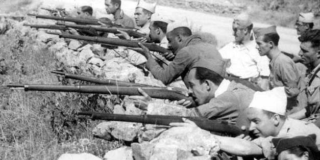 Fotografía de la guerra civil en territorio de Aragón