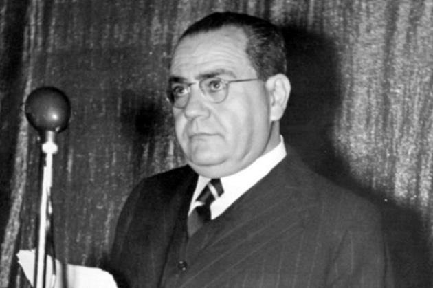 Fotografía de Juan Negrín, último presidente del gobierno del bando republicano