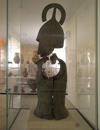 La armadura hoplita más antigua conservada, de finales del s VIII aC