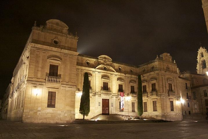 Palacio episcopal de Salamanca, sede del bando sublevado durante la guerra civil