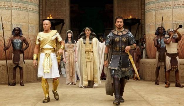 Uno de los fotogramas de la película, con Christian Bale y Joel Edgerton en primer plano