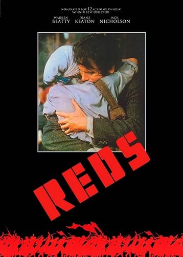 """Cartel de la película """"Rojos"""""""
