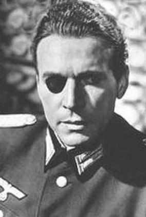 Fotografía del verdadero Claus von Stauffenberg