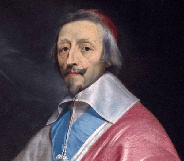 El cardenal Richelieu, pintura de Philippe de Champaigne c. 1633-1640