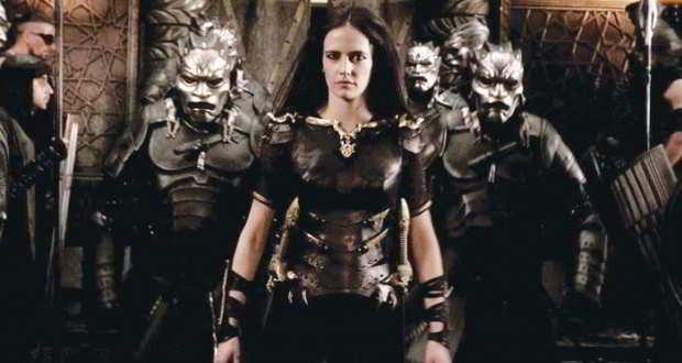 Artemisia de Caria, interpretada en el cine por Eva Green