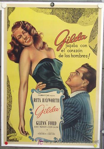 """Cartel de """"Gilda"""""""
