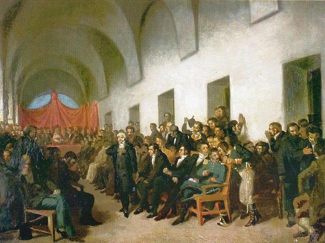 Cuadro sobre el Cabildo Abierto de Buenos Aires del 22 de mayo de 1810