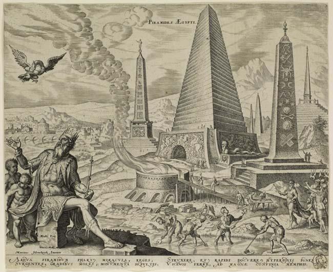 La gran pirámide según van Heemskerck