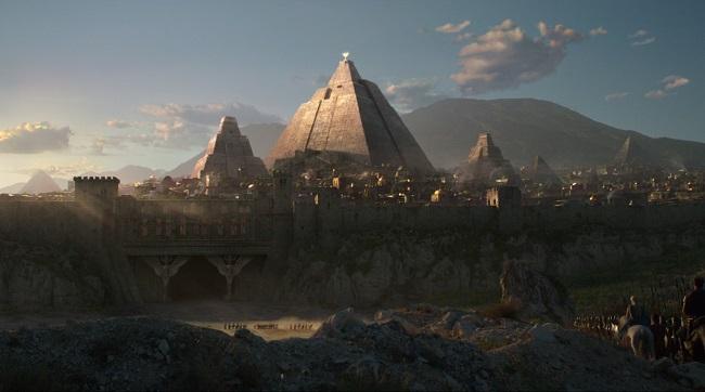 Meereen, ciudad de Juego de Tronos inspirada en las de Egipto y Próximo Oriente antiguo