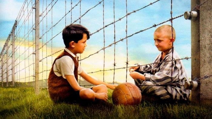 Protagonistas de la película El niño con el pijama a rayas
