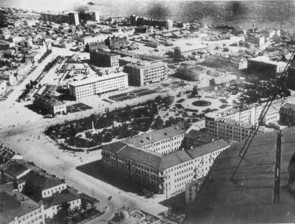 Fotografía de la ciudad antes de la batalla de Stalingrado