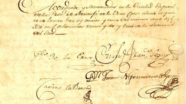 Detalle del Tratado del Cuadrilátero