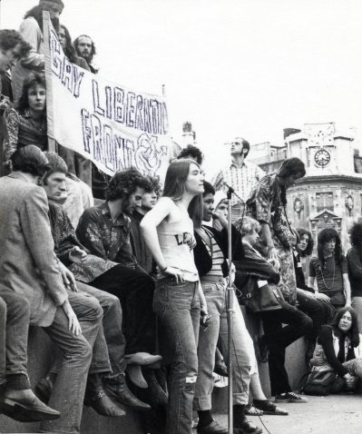 Fotografía del Gay Liberation Front