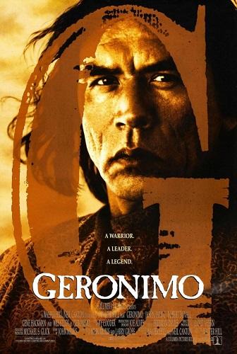 Cartel de la película Gerónimo, una leyenda americana