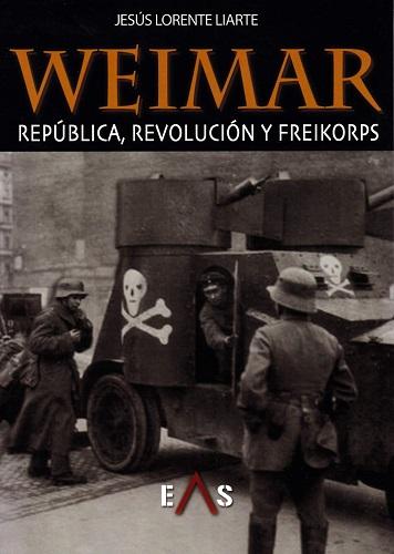 Portada de este libro sobre la historia militar de la república de Weimar